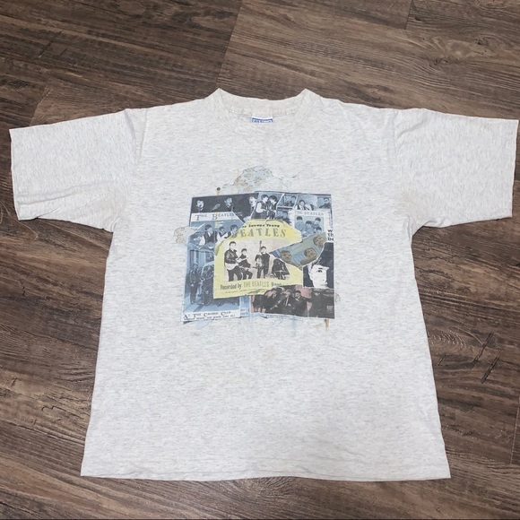 Vintage 1995 Beatles Shirt